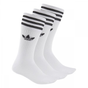 SOLID CREW SOCK 3PP 3538SOLID CREW SOCK