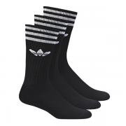 SOLID CREW SOCK 3PP 3538